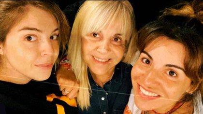 El visto bueno de Dalma y Gianinna fue un factor clave para que Claudia aceptara este nuevo desafío (Foto: Instagram)