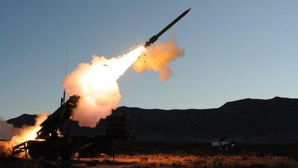 Un misil PAC-3 (Lockheed Martin)