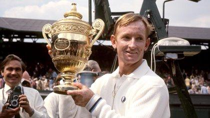 Rod Laver hizo historia en el tenis mundial (Reuters)