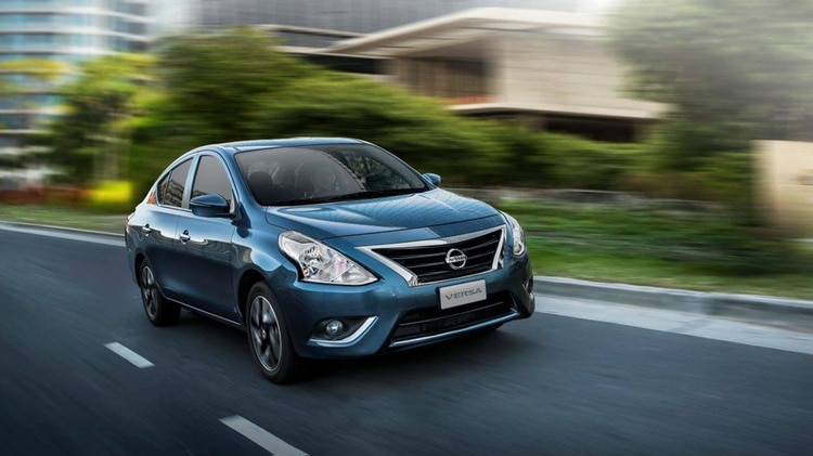 El Nissan Versa es uno de los modelos que tendrán bonificación de $50.000
