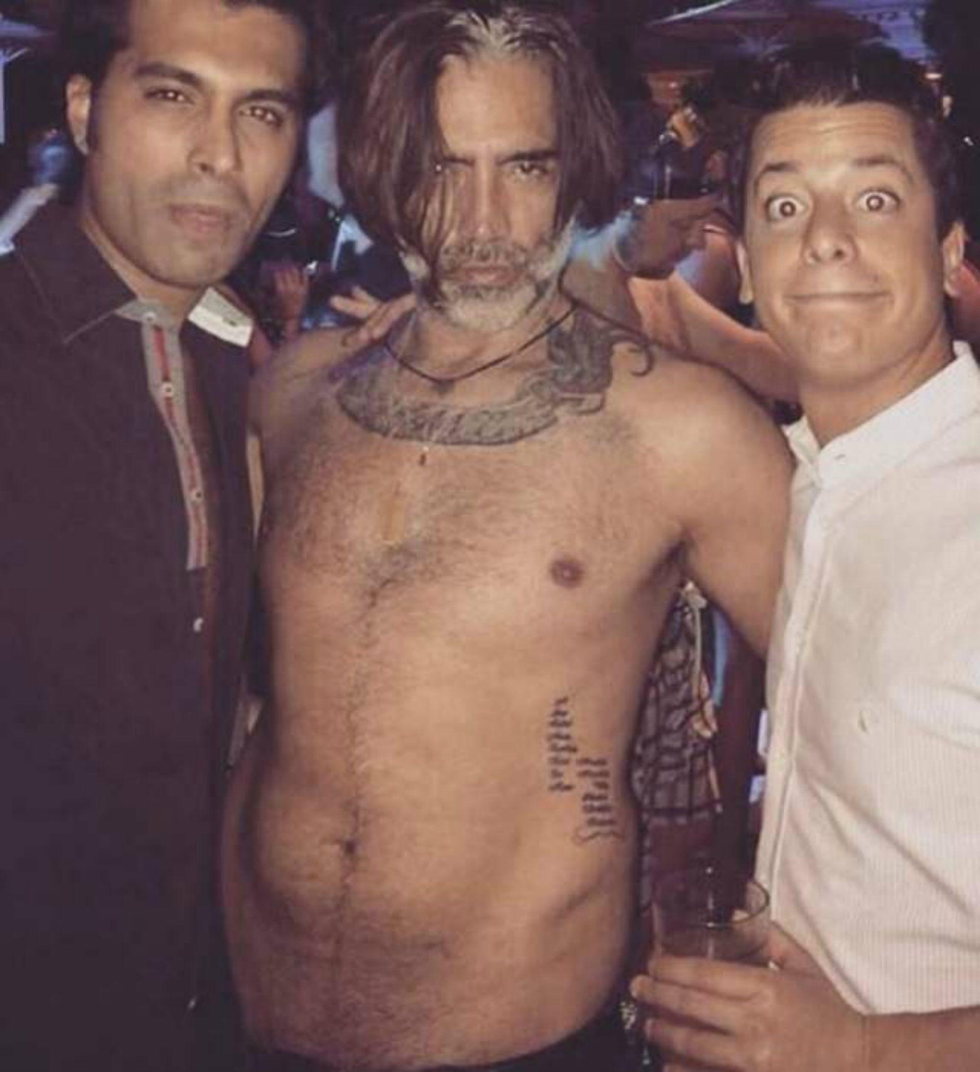La foto de Alejandro Fernández en Las Vegas que se hizo viral (Foto: Archivo)