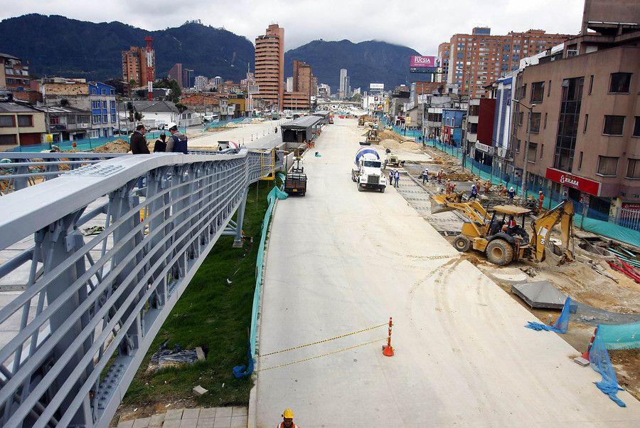 Obras TransMilenio