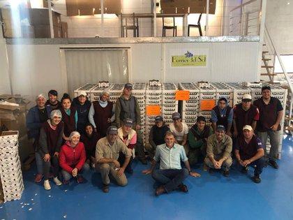Luego de la reapertura del mercado, Argentina concretó el primer embarque de arándanos a Israel
