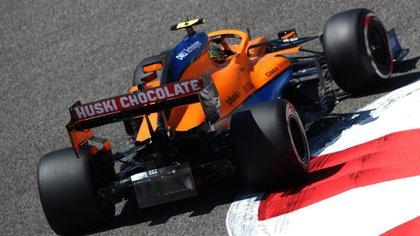 El difusor de McLaren para la Formula 1 en 2021