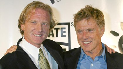 Mandatory Credit: Photo by Startraks/Shutterstock (428943j)Robert Redford (R) with son, James RedfordFIRST ANNUAL 'SHARE THE BEAT' GALA TO EDUCATE THE PUBLIC ON THE IMPORTANCE OF ORGAN DONATION, CICADA RESTAURANT, LOS ANGELES, AMERICA - 20 SEP 2003