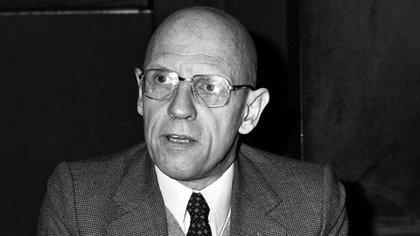 Michel Foucault , pensador de influencia casi hegemónica en materia educativa en Argentina (AP)