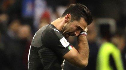 (AP) El italiano no disputará el Mundial después de caer ante Suecia en el repechaje