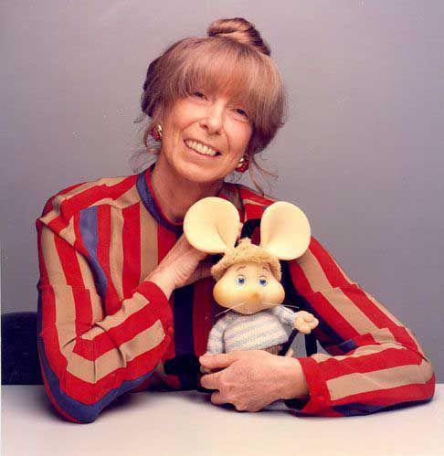 María Perego, con su Topo Gigio