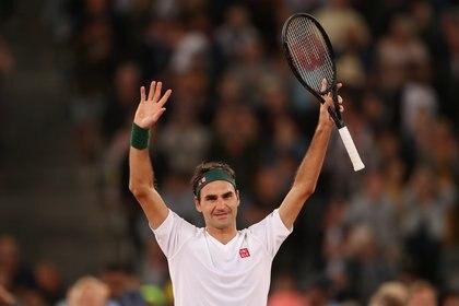 Federer no está entrenando - REUTERS/Mike Hutchings