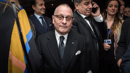 El canciller argentino Jorge Faurie (Foto: Martín Rosenzveig)