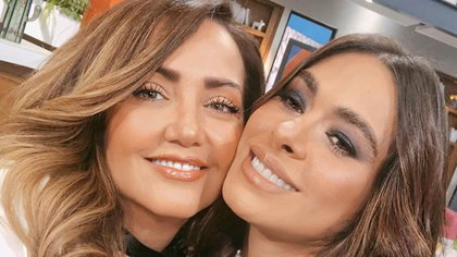 """Galilea Montijo y Andrea Legarreta son compañeras en """"Hoy"""" desde hace varios años (IG: andrealegarreta)"""