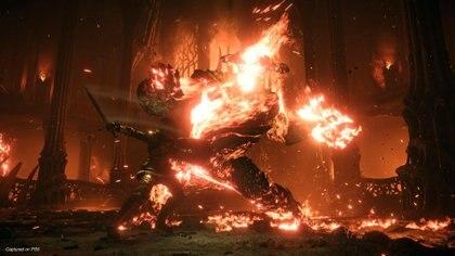 Flamelurker es uno de los jefes más demandantes de todo el juego