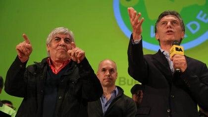 Mauricio Macri se acercó a Hugo Moyano (y viceversa), pero el PRO nunca tuvo inserción en el sindicalismo