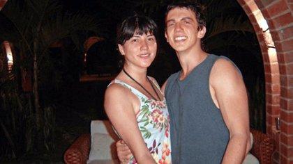 Margarita Gómez, de 23 años, y Mateo Matamala, de 27, estudiantes de biología de la Universidad de los Andes, de Bogotá.