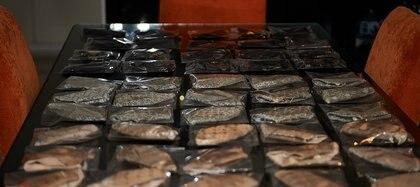 Los tapabocas listos para ser entregados a los médicos by Adot  (Foto: Rubén Giménez)