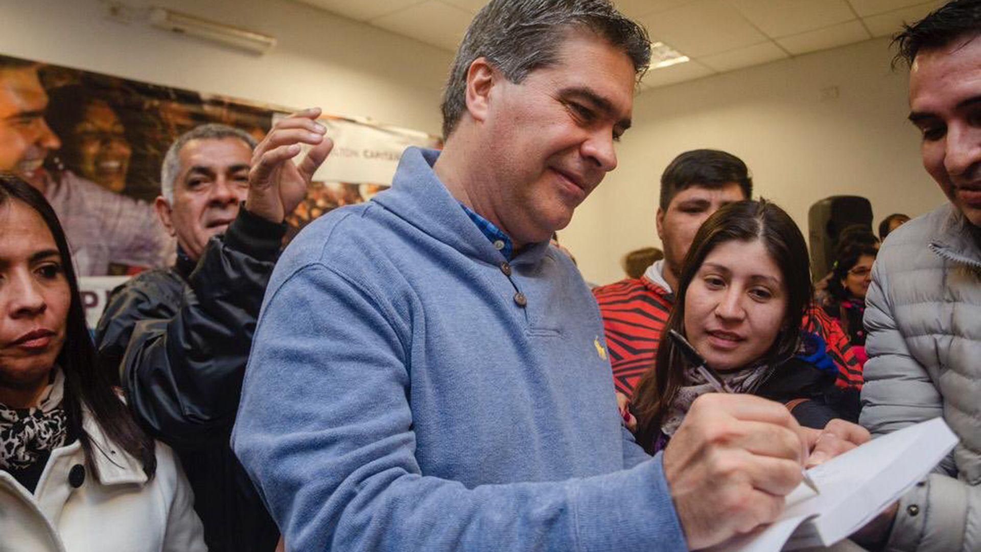 Jorge Capitanich se sumó como candidato para renovar la cúpula dirigencial del partido.