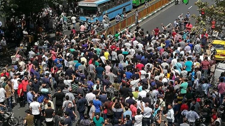 Las protestas por las condiciones de vida y contra el gobierno sacuden al país desde mediados de noviembre (Imagen archivo)