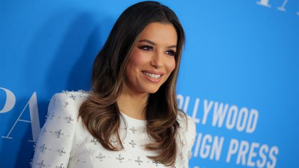 Mandatory Credit: Photo by Chelsea Lauren/Shutterstock (10351555ao) Eva Longoria Hollywood Foreign Press Association Annual Grants Banquet, Arrivals, Los Angeles, USA - 31 Jul 2019