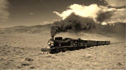 El recorrido del tren por la Sierra Madre se torna divertido en la medida que avanza la canción (Foto: captura de pantalla)