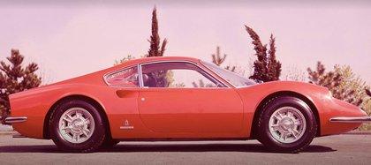 La primera Ferrari Dino 206 GT, de 1967.
