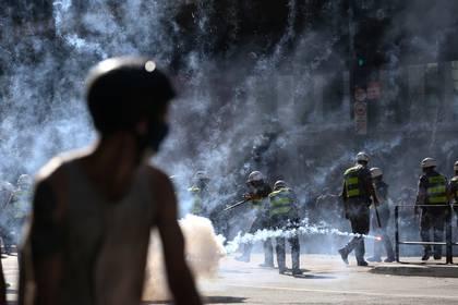 Los disturbios se produjeron en la Avenida Paulista (REUTERS/Rahel Patrasso)