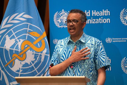 Tedros Adhanom Ghebreyesus, director general de la OMS (Christopher Black/ WHO/ Handout vía Reuters)