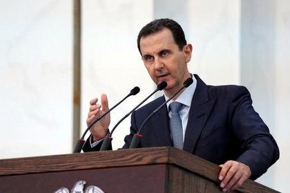 Bashar al Assad, dictador sirio (SANA/Handout via REUTERS)