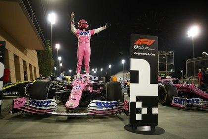 En ausencia de una carrera a la que termine la campaña, Checo no tendrá un lugar garantizado en la competencia de carreras del Gran Premio del próximo año (Foto: Bryn Lennon / Reuters)