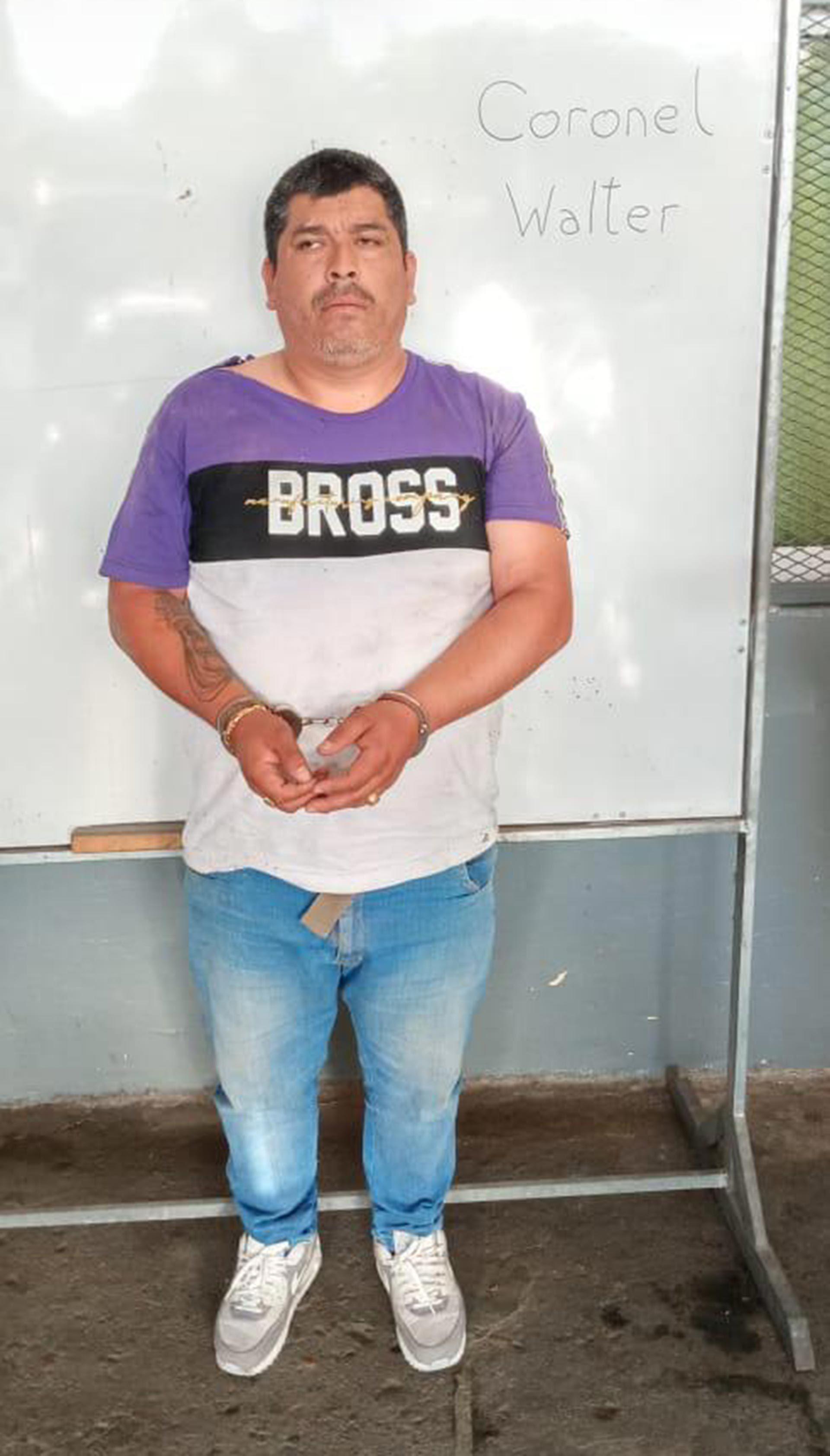 Walter Coronel condenado