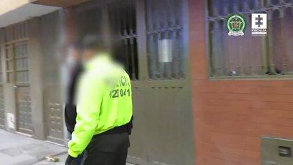 La fiscalía capturó a los señalados integrantes de la banda 'Las Amarillas' que intentaba dominar el tráfico de estupefacientes en el sur de Bogotá mediante homicidios, algunos de ellos publicados en redes sociales. Foto: Fiscalía General de la Nación