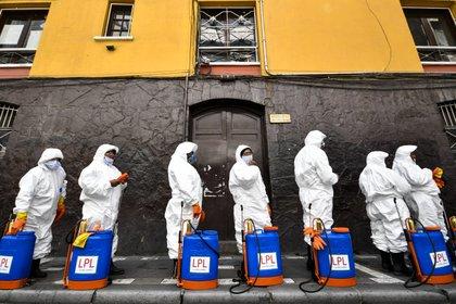 02/04/2020 Trabajadores sanitarios en Bolivia. POLITICA INTERNACIONAL Christian Lombardi/ZUMA Wire/dpa