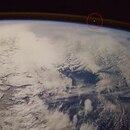 El momento en que el astronauta italiano comenzó a ver por la venta de la Estación Espacial Internacional