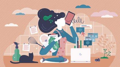 Los trastornos de salud mental materna que pueden ocurrir en este período incluyen la depresión posparto, los trastornos de ansiedad, trastorno obsesivo compulsivo, trastorno de estrés postraumático y la menos frecuente -pero grave- psicosis posparto (Shutterstock)
