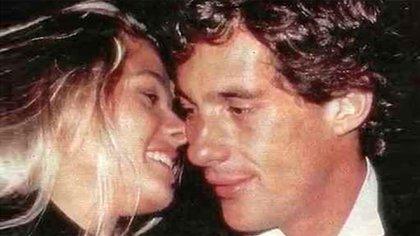 Ayrton Senna tenía 33 años cuando conoció a Adriane, de 19