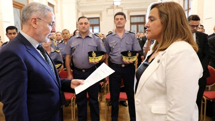 Saín, ministro de Seguridad santafesino, puso en funciones al nuevo equipo de investigaciones internas