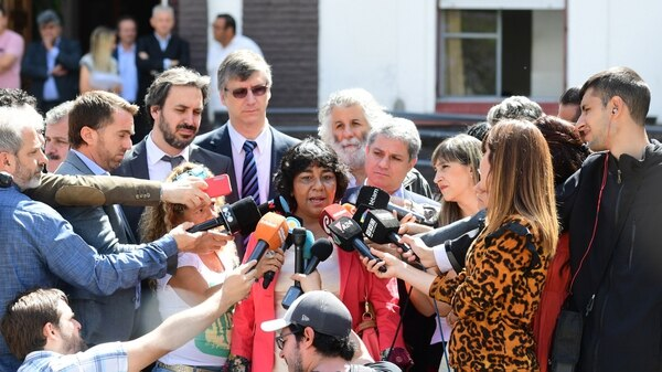 Norma Gómez acudió al Archivo Nacional de la Memoria aún sin estar citada