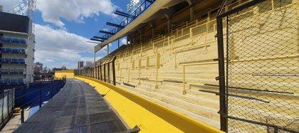 En los próximos días quedará finalizada la obra en este sector del estadio de Boca