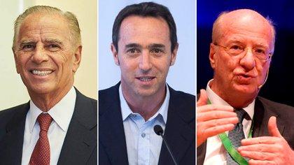 Alejandro Bulgherni, Marcos Galperin y Paolo Rocca