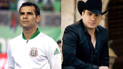 """Rafa Márquez y el cantante Julión Álvarez, dos de los involucrados en la red de lavado de dinero vinculada a """"El tío"""" (Foto: Archivo)"""