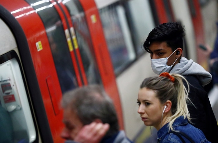 La estación Clapham North de la metropolitana de Londres (REUTERS/Hannah McKay)