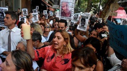 """""""Estoy muerta en vida"""", dijo la madre de Báez Sosa (Nicolás Stulberg)"""