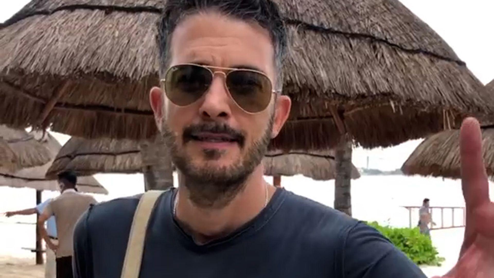 Fernando del Solar también vive los estragos del huracán Delta