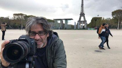 """Un sueño en Paris, de Sergio """"Cucho"""" Costantino"""