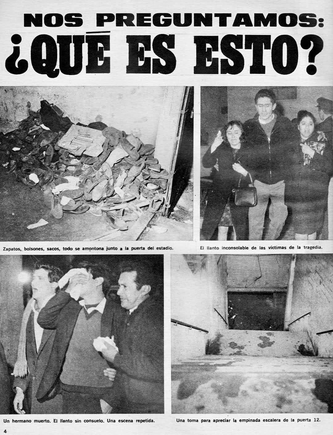 la tragedia de la Puerta Doce en 1968