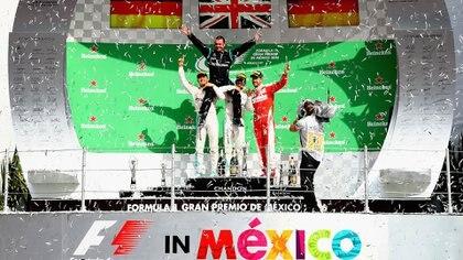 Hamilton quedó cuarto el año pasado, pero con eso se garantizó el título mundial (Foto: AFP)