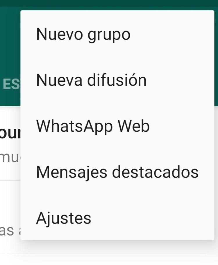 En las listas de difusión sólo puede enviar mensajes el creador de la lista.