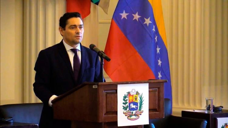 Conferencia Ayuda Humanitaria Venezuela Carlos Vecchio