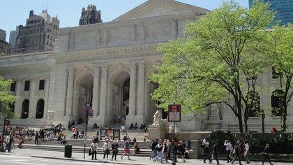 Biblioteca Pública de Nueva York (Foto: Wikipedia)
