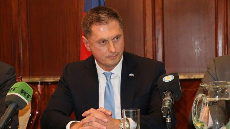 El embajador Dmitry Feoktistov (Embajada de Rusia en Argentina)