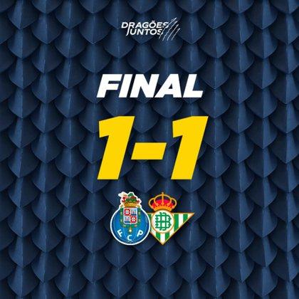 Así compartió el resultado el Porto (Foto: Twitter)